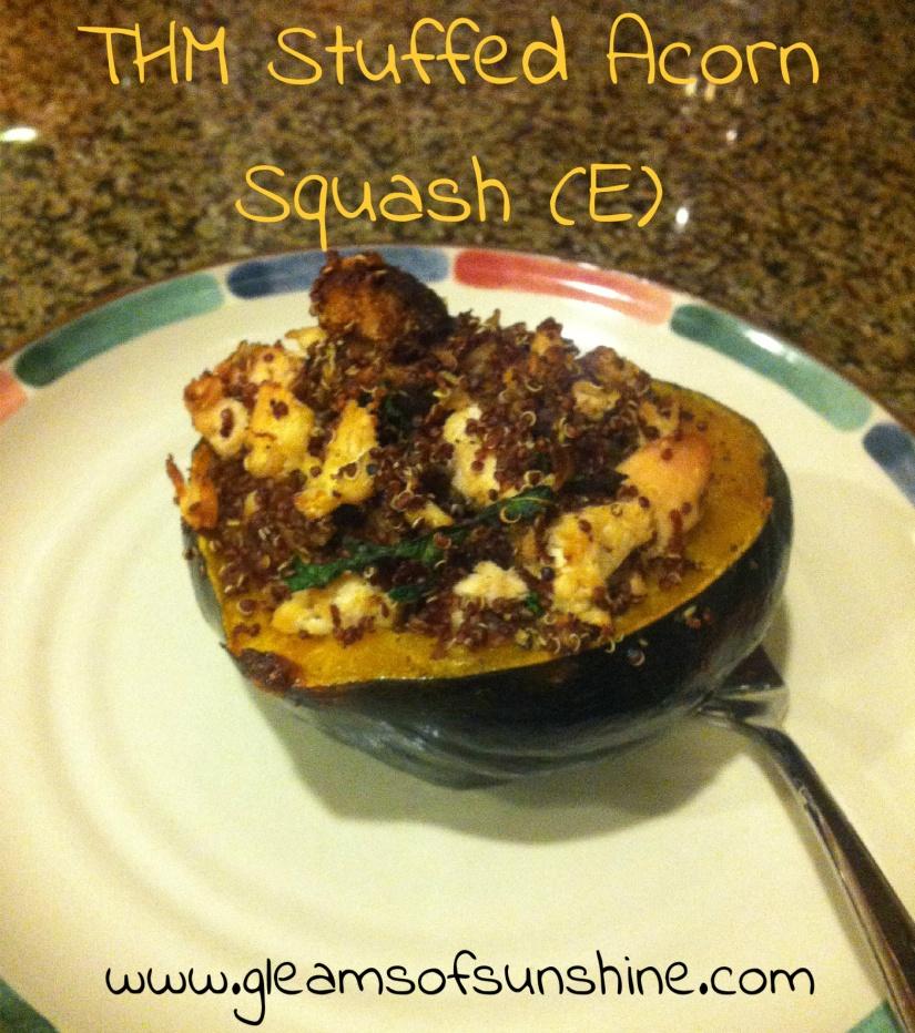 THM Stuffed Acorn Squash (E)